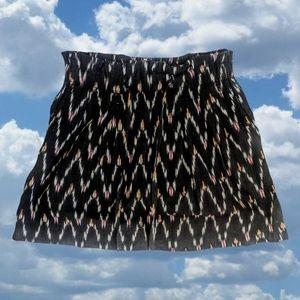 Soeur Zig Zag Print Mini Skirt